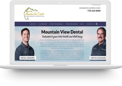 Mountain View Dental – 176% Increase In Conversions
